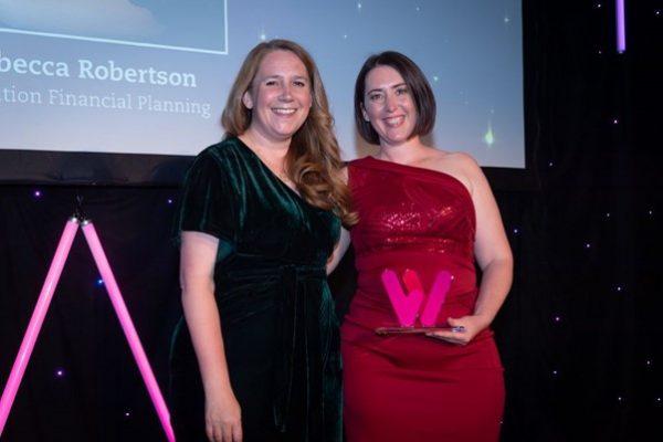 Award winning female financial advisor